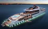 Những du thuyền hàng trăm triệu USD chỉ giới siêu giàu dám sở hữu