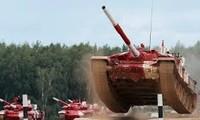 Màn trình diễn ấn tượng của xe tăng Nga tại chung kết Tank Biathlon 2019