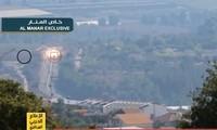 Israel công bố cảnh tên lửa Hezbollah xé nát xe bọc thép