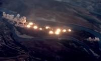 Tiêm kích Mỹ trút 36 tấn bom xuống 'đảo IS'