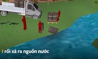 Vụ đổ dầu thải gây ô nhiễm nước sạch sông Đà diễn ra thế nào?
