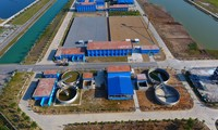 Toàn cảnh nhà máy nước sông Đuống 5.000 tỷ đồng từ flycam