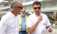 Giám đốc F1 thị sát thi công đường đua Hà Nội