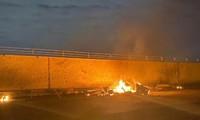 Hiện trường nơi Mỹ ám sát tư lệnh Iran theo lệnh của Tổng thống Trump