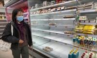 Người Hong Kong dự trữ lương thực, làm việc ở nhà tránh virus corona