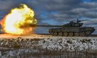 Xe tăng Nga nghiền nát 100 mục tiêu trong tập trận bắn đạn thật