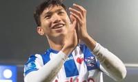 Văn Hậu kiến tạo cho đồng đội ghi bàn ở Jong Heerenveen