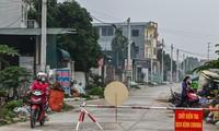 Cận cảnh thôn Hạ Lôi, Mê Linh ngày đầu cách ly