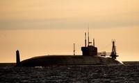 Uy lực đáng gờm của tàu ngầm hạt nhân Nga Knyaz Vladimir lớp Borei-II