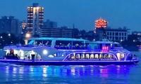 Tàu chở khách chạy bằng điện lớn nhất Trung Quốc