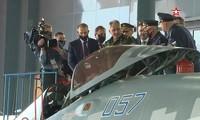 Bộ trưởng Quốc phòng Nga kiểm tra Su-57 trước giờ khai mạc Army Games