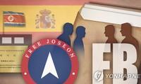 Tổ chức Joseon Tự do nói rằng họ chia sẻ các thông tin đánh cắp từ Đại sứ quán Triều Tiên ở Tây Ban Nha với FBI. (Ảnh: Yonhap)