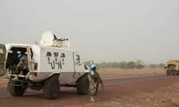 Một phương tiện của lực lượng gìn giữ hoà bình Liên Hợp quốc tại Mali