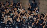 Người dân Hong Kong xuống đường ngày 9/6. (Ảnh: AP)