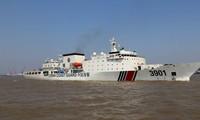 Haijing 3901, một trong những tàu hải cảnh lớn nhất thế giới, là một trong những tàu hộ tống tàu thăm dò Hải Dương 8 vi phạm vùng đặc quyền kinh tế của Việt Nam