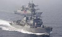 Tàu khu trục Mỹ Wayne E. Meyer. (Ảnh: Reuters)