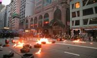 Đợt biểu tình lần này ở Hong Kong đã kéo dài hơn 4 tháng. (Ảnh: SCMP)
