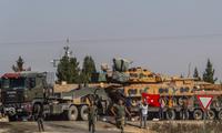 Thổ Nhĩ Kỳ đang triển khai chiến dịch tấn công vào đông bắc Syria. (Ảnh: EPA)