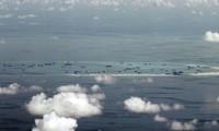 Trung Quốc bồi đắp ở đá Vành Khăn thuộc quần đảo Trường Sa của Việt Nam (Ảnh: AP)
