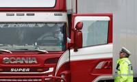 Đầu chiếc xe tải chở 39 người nhập cư thiệt mạng