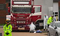 Chiếc xe tải chở 39 người Việt thiệt mạng được phát hiện ở Anh