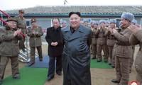 Hình ảnh mới của ông Kim Jong Un được báo chí Triều TIên đăng tải. (Ảnh: KCNA)
