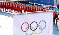 Các vận động viên Nga thi đấu dưới banner trung lập tại PyeongChang năm 2018. (Ảnh: Reuters)