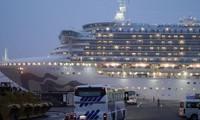 3.700 người trên du thuyền Diamond Princess bị cách ly vì có người nhiễm Covid-19. (Ảnh: EPA)