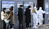 Tình hình dịch Covid-19 ở Hàn Quốc đang diễn biến phức tạp. (Ảnh: Reuters)