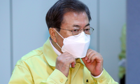 Tổng thống Hàn Quốc Moon Jae-in. (Ảnh: Yonhap)