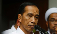 Tổng thống Indonesia Joko Widodo. (Ảnh AP)
