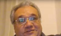 Bác sĩ Marcello Natali trong một clip trả lời phỏng vấn báo chí trước khi ngã bệnh