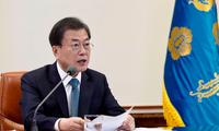 Tổng thống Hàn Quốc Moon Jae-in. (Ảnh: Getty Images)