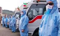 COVID-19 hoành hành, Iran mang thiết bị y tế ra diễu binh thay tên lửa