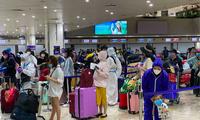 Nhóm công dân Việt Nam tại Philipines vừa được đưa về nước. (Ảnh: Mofa)
