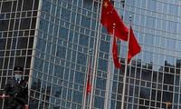 Một cột cờ Trung Quốc ở Bắc Kinh. (Ảnh: Reuters)