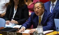 Đại sứ Trung Quốc tại Liên Hợp quốc Zhang Jun. (Ảnh: China Daily)
