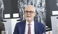 Đại sứ Đức tại Việt Nam Guido Hildner. (Ảnh: Như Ý)