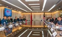 Đoàn Trung Quốc do Bộ trưởng Quốc phòng Ngụy Phượng Hòa tham gia cuộc hội đàm nhân chuyến thăm Malaysia vào tháng trước. (Ảnh: Xinhua)