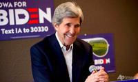 Cựu ngoại trưởng Mỹ John Kerry. (Ảnh: AP)