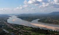 Đoạn sông Mekong chảy qua Thái Lan. (Ảnh: Reuters)