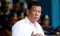 Tổng thống Philippines Duterte. (Ảnh: DW)