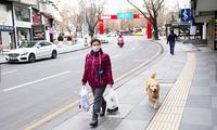 Đường phố thủ đô Ankara, Thổ Nhĩ Kỳ, vắng vẻ vì tình hình dịch COVID-19 vẫn phức tạp. (Ảnh: Arab News)