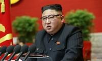 Ông Kim Jong Un khai mạc đại hội của đảng. (Ảnh: Reuters)