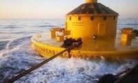 Chiếc phao khổng lồ vừa được Trung Quốc đưa ra biển Hoa Đông. (Ảnh: CAS)