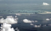 Nhật Bản tố Trung Quốc cản trở tự do bay ở khu vực đá Vành Khăn thuộc quần đảo Trường Sa của Việt Nam. (Ảnh: AP)