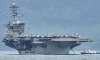 Tàu sây bay Mỹ USS Theodore Roosevelt. (Ảnh: US Navy)
