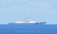 Một tàu hải cảnh Trung Quốc
