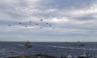 Nhóm tác chiến tàu sân bay USS Theodore Roosevelt. (Ảnh: US Navy)