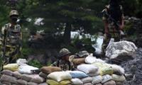 Binh lính Ấn Độ làm nhiệm vụ trên biên giới